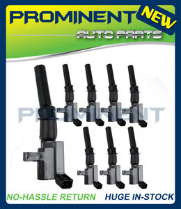 8x Ignition Coil For Ford F 150 F250 F550 4 6l 5 4l V8 Expedition Fd503 Dg508