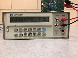 Hp agilent 3468b Multimeter Used Tested Ships Free