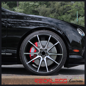 Savini 22 Bm12 Machined Black Concave Wheels Rims Fits Hyundai Veracruz