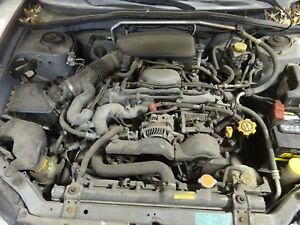 Engine 2006 Subaru Impreza 2 5l Motor With 57 333 Miles