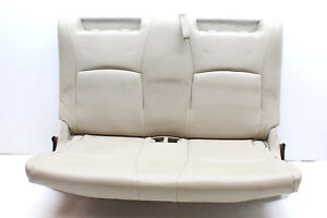 2007 Toyota Highlander Hybrid 3rd Row Bench Seat Tan Leather Oem 04 05 06 07