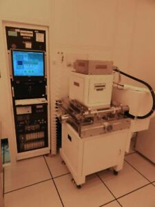 Alcatel 2460 Thick Film Deposition Pvd Sputtering System Mei vac Qdp40 Used