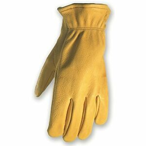 Deerskin Driver Gloves Full Leather Work And Driving Medium wells Lamont 962m