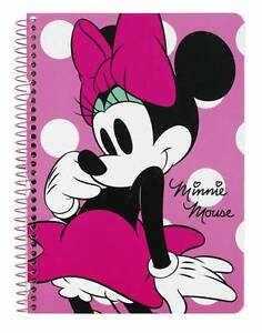 Disney Minnie Mouse Block Notebook Notepad Notepad Spiral Notebook Notebook A5