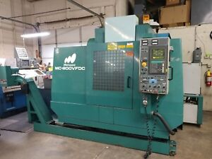 Matsuura Mc 800vfdc Vmc Dual Spindle 15k Rpm Sp Chiller Vertical Machining Cnc