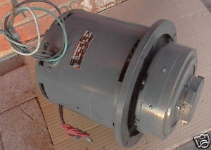 New Tennant Nobles Burnisher Motor 230v 1hp 602738