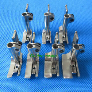 7 Sets sizes For Consew 206rb 225 226 Welting Piping Walking Foot s32