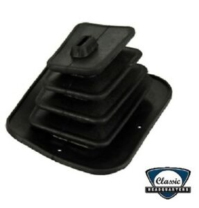 67 68 Camaro 4 Speed No Console Rubber Shifter Shift Boot Floor Seal