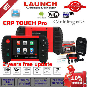 All System Launch Crp Touch Pro Obd2 Tpms Diagnostic Scanner Epb Sas Srs Update