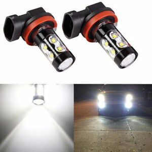 H16 H11 6000k 50w Cree Led Fog Lights Lamp For 2009 2016 Toyota Corolla