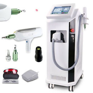 Spa Center Nd Q Switch Tattoo Removal Yag Laser Pigment Removal Skin Care Bd ls