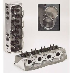 Brodix 2061001 Race Rite Oval Port Assembled Cylinder Head For Big Block Chevy