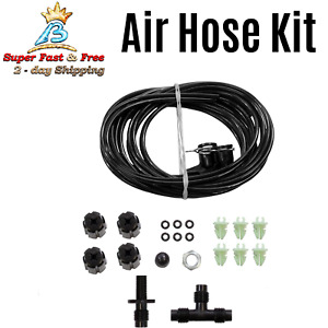 Air Shock Absorber Suspension Hose Line Accessory Kit Ride Parts Repair Tool New
