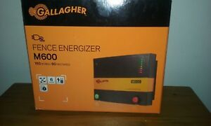 New Gallagher M 600 Energizer Free Shipping