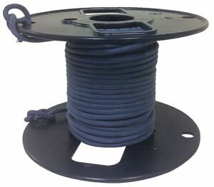 Rowe 16 Awg Hv Silicone Lead Wire Tin plated Copper 5 Kvdc Black 50 Ft