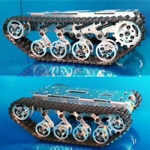 Robot Car Tank Track Chassis Metal Tracked Vehicle For Arduino Robotics Diy Kit