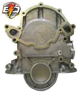 Ford 302 351w Timing Cover With Diptube Hole Fuel Pump Mount