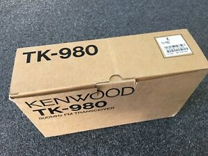 New Open Box Kenwood Uhf Fm Transceiver Tk 353 Read
