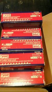 25 Powers Fasteners Red 10 Shot Strip Loads 100 Ct Power Level 5 Hilti ramset