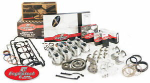 New Small Block Chevy 327 Engine Rebuild Kit Flat Tops Double Roller Hv Oil Pump