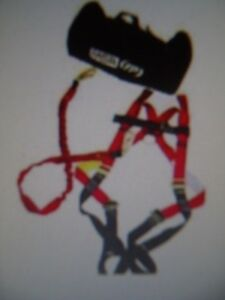 Msa Safety 10062316 Fall Protection Vest style Harness And Diamond Kit new