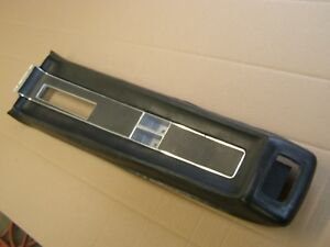 Oem Ford 1968 Mustang Center Console Pad W Trim Insert Black Automatic Trans