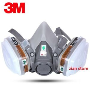 3m 6200 Chemical Gas Mask 7 Suit 3m 6001 Filter Paint Spray Respirator Anti fog