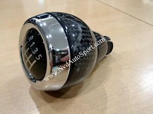 Bmw Mini R60 Countryman Cooper S Carbon Fiber Manual Gear Knob Shifter