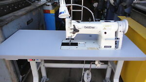 Brother Walking Foot Industrial Sewing Machine With Reverse Table 115 Volts Hp