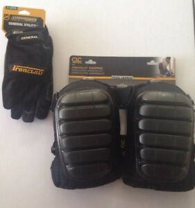 Ironclad General Utility Gloves Xl And Clc Work Gear 347 Armadillo Kneepads