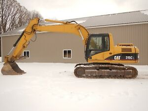 2004 Caterpillar 315cl Hydraulic Excavator With Hydraulic Thumb 8374 Hours