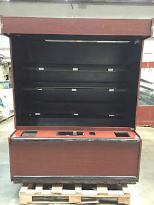 Columbus Wall Market Display Case Self Serve Bakery Merchandiser Open Concept
