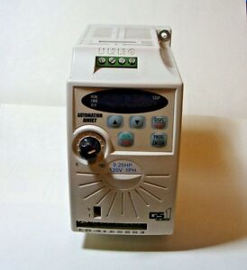 Automation Direct Gs1 10p2 Ac Micro Drive 0 25 Hp 120v