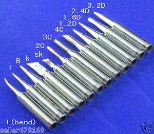 60pcs 900m t tips Soldering Iron Tip For 936 937 928 Soldering Station Tools