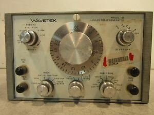 Wavetek Model 135 Lin log Sweep Generator
