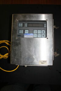 Hach Met One 237d Clean Room Laser Particle Counter Powered On 2