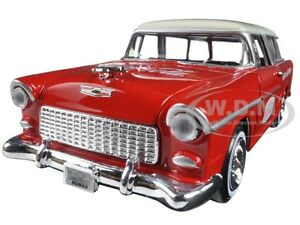 1955 CHEVROLET NOMAD COCA-COLA 1:24 DIECAST CAR MODEL BY MCC 424110