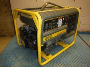2011 Wacker Gp3800 Portable Gas 3800 Watt Generator W Honda Gx240 Engine