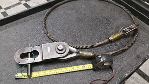 Rigging Block With American Riggers 82 5 8 X 5 8 Wire Rope Sling