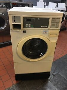 Huebsch 1ph Front Load Commercial 20lb Washer Laundromat Coin Digital