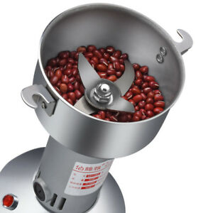 Portable Mini Stainless Steel Grinder Chinese Herbal Grain Cereals Mill Machine