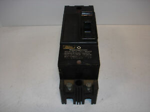 used Westinghouse No 1222002 Circuit Breaker Amps 15 V 250ac 125 250dc used
