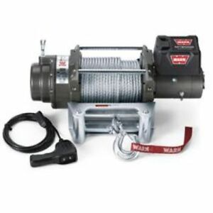 Warn 265072 M12000 Winch Electric 24v 12 000 Lb Roller Fairlead 125 Ft