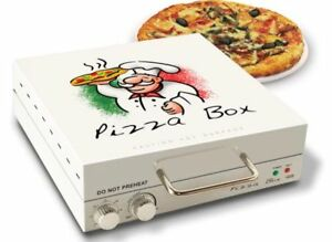 Countertop Pizza Oven W Rotating Surface Kitchen Unique Box Style Baker Cooker