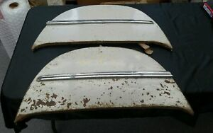 1942 1946 Oldsmobile Olds Passenger Car Fender Skirts 1943 1944 1945