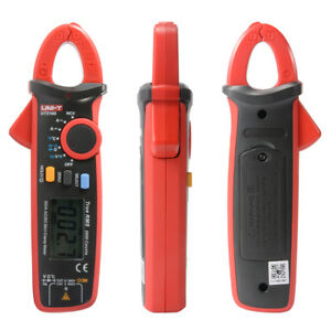 Uni t Ut210d Digital Clamp Meter Mini Ac dc Clamp Multimeter Storage Bag Bi779