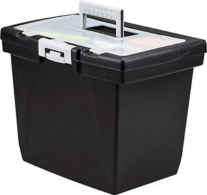 Portable File Box With Steel Rails 4 Pack 61522b04c