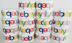Lot Of 36 Rolls Ebay Branded Tape For Packing 75 Yards Free Quick Shipping