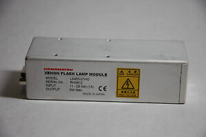 Hamamatsu L9455 01ho Compact 5w Xenon Flash Lamp Module Light Source Uv vis nir