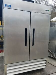 Arctic Air Commercial Freezer Model Number Af49 Has Reset Control Used 3 Months